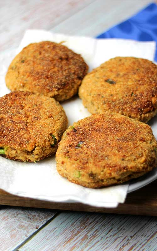 These Salmon Patties with Wasabi Aioli rock! They taste incredible. You can make them in less than 20 minutes. And they're healthy!