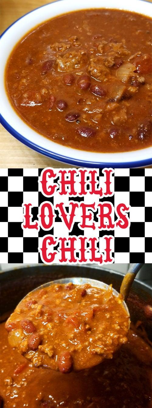 Chili Lovers Chili