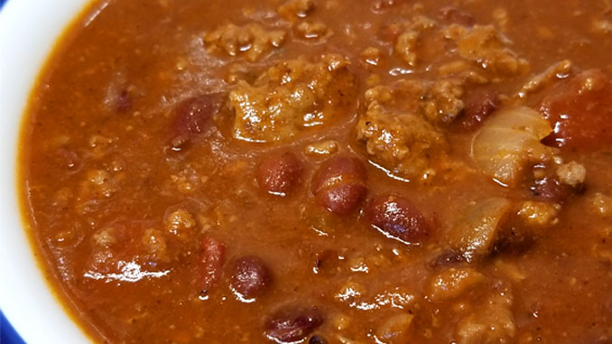 We are pretty passionate about our Chili around here, and this my friends is my contribution to the Chili world; enter my
