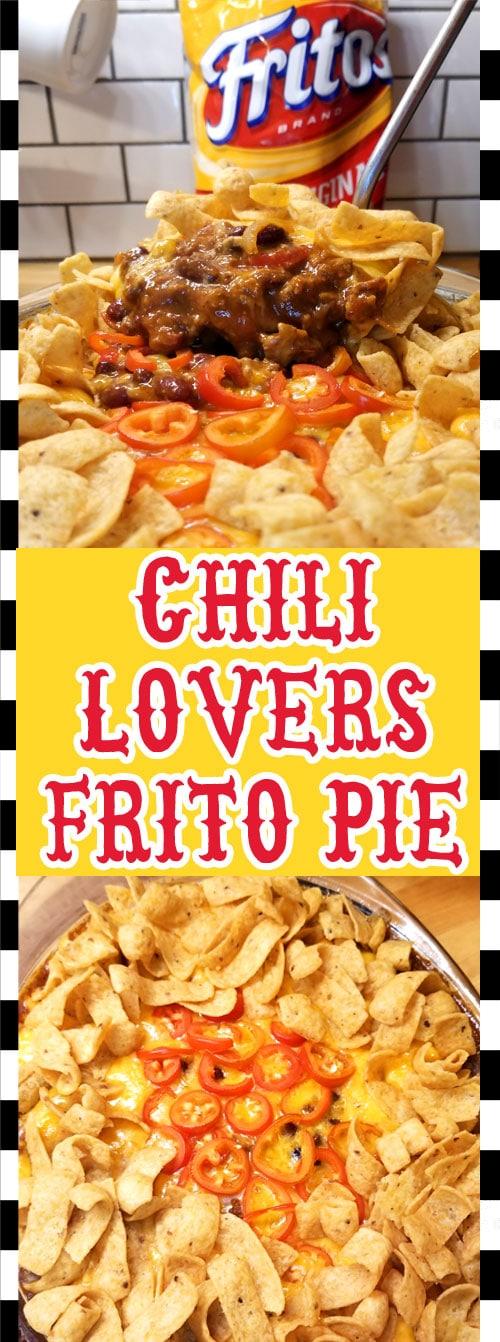 Chili Lover\'s Frito Pie