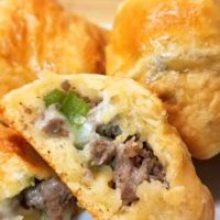 Philly Cheesesteak Party Bites
