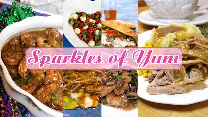 Sparkles of Yum 2018 cover photo