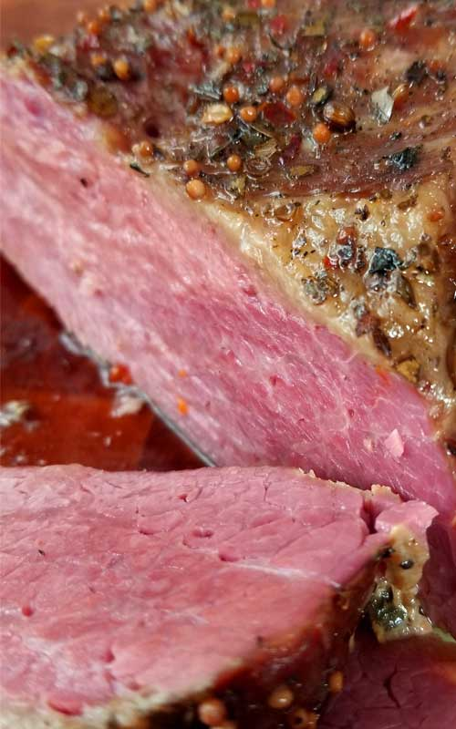 Corned Beef in the Slow Cooker Recipe - Hands down my favorite corned beef is from the slow cooker. It has got to cook low and slow to get to that point where it just practically melts in your mouth, fork tender