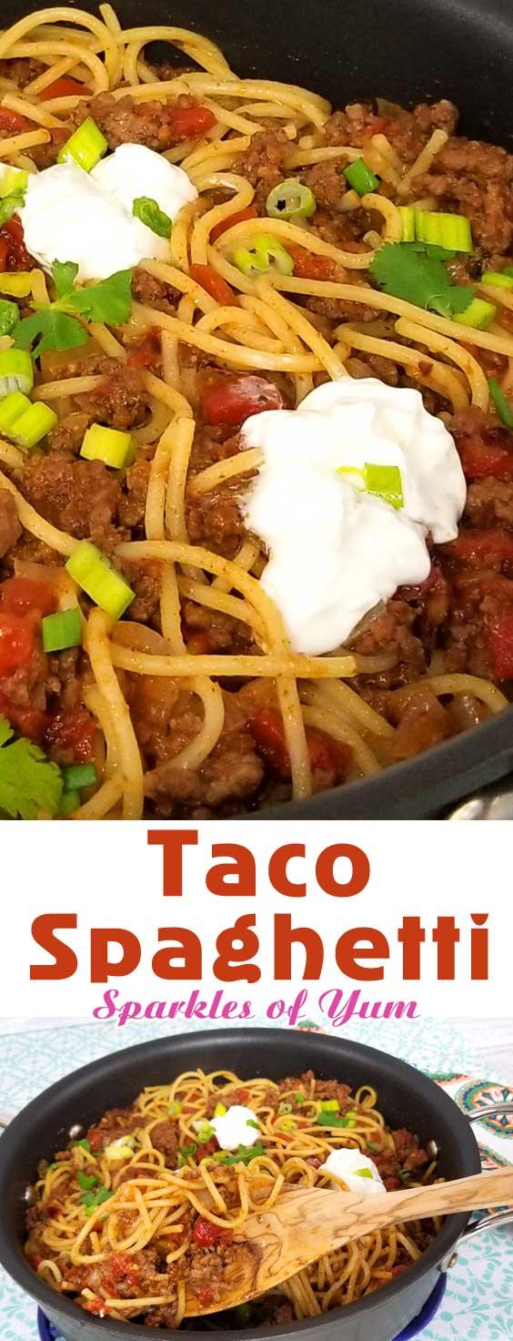 30-Minute Taco Spaghetti