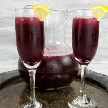 Blueberry Lemonade Bellini