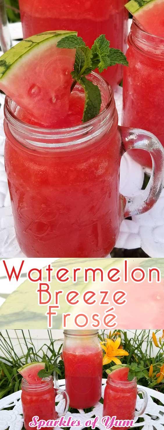 Watermelon Breeze Frosé