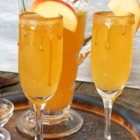 Caramel Apple Cider Mimosa
