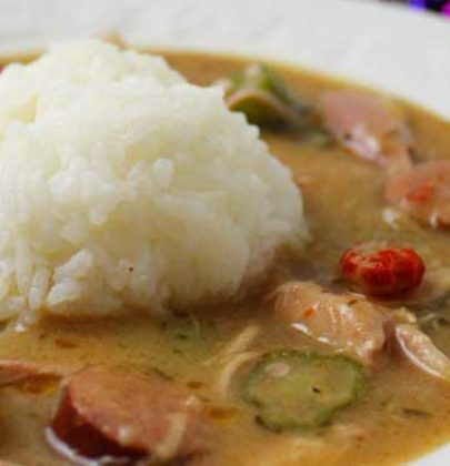Authentic New Orleans Cajun Gumbo