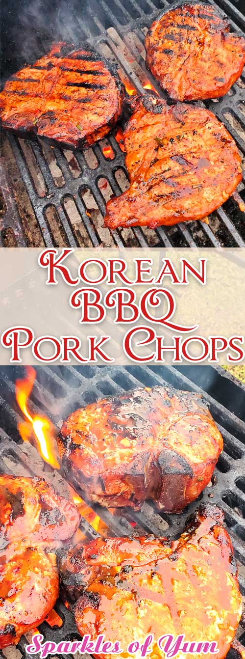 Korean BBQ Pork Chops