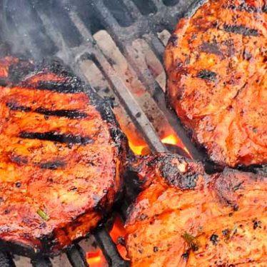 Korean BBQ Pork Chops