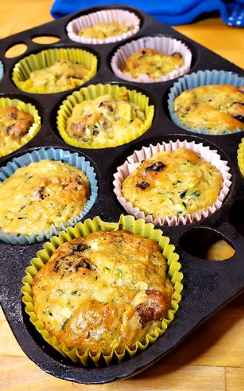 I have to say that I fell completely in love with these Zucchini Hummingbird Muffins. I could have made a whole meal out of them and would of been perfectly happy.