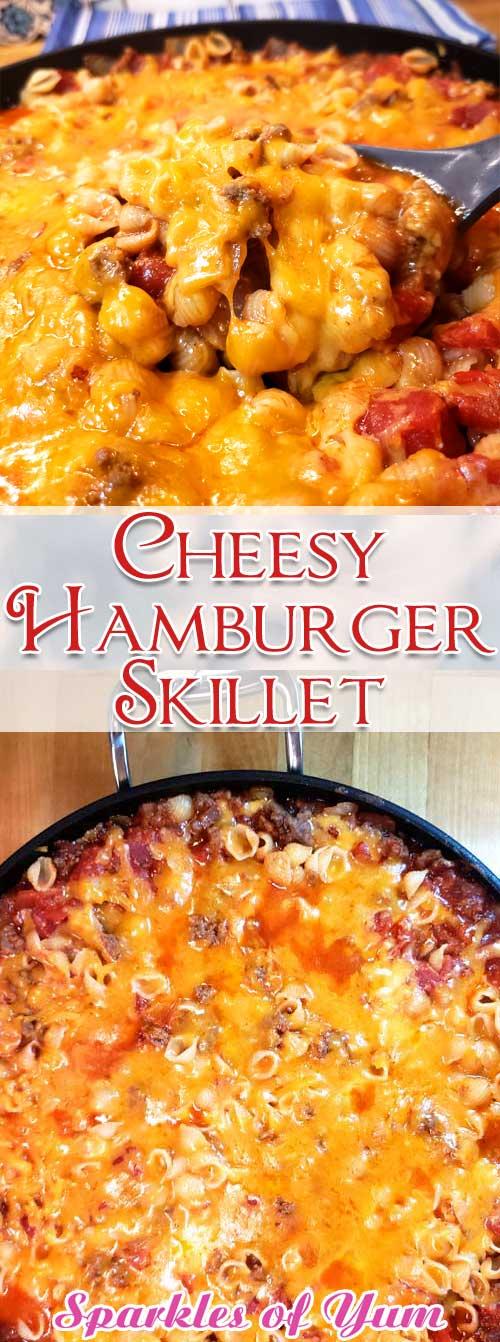 Cheesy Hamburger Skillet