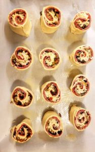 These Muffuletta Pinwheels were absolutely incredible, extremely flavorful, and surprisingly easy to make.